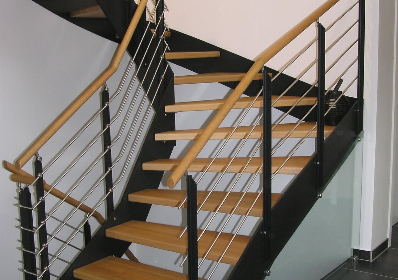 escalier bois et metal photos de conception de maison. Black Bedroom Furniture Sets. Home Design Ideas