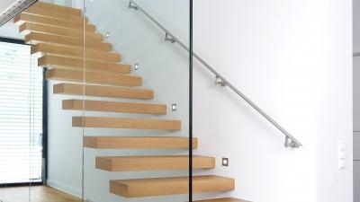 Escaliers en bois sans contre-marches