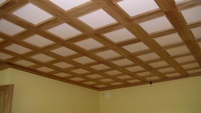 Faux-plafonds à l'ancienne
