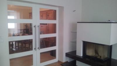 Portes int rieures en bois simples ou vitr es au luxembourg for Portes interieures coulissantes vitrees