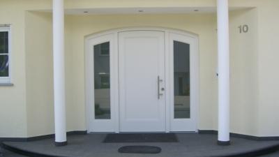 Portes d'entrées en PVC
