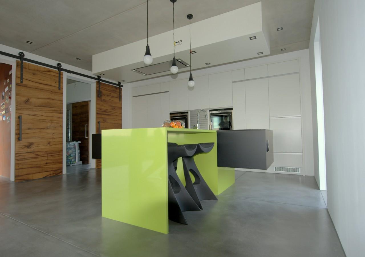 r alisation d 39 un lot central avec comptoir menuiserie weber. Black Bedroom Furniture Sets. Home Design Ideas