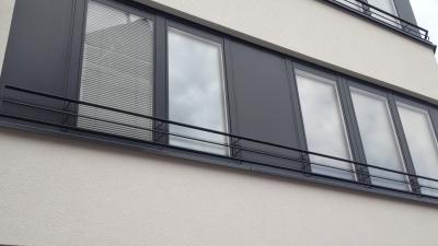 Réalistation de fenêtres en bois-alu